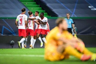 Leipzig castiga sobre el final y elimina al Atlético de Madrid para ir a 'semis'