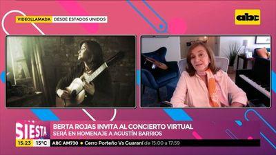 """Berta Rojas invita al concierto virtual en homenaje a """"Mangoré"""""""