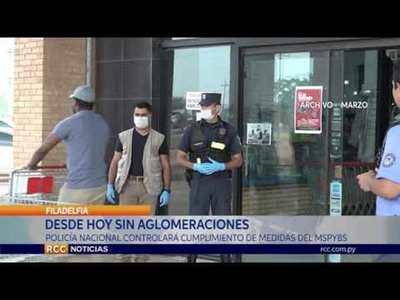 POLICÍA NACIONAL CONTROLARÁ CUMPLIMIENTO DE MEDIDAS DEL MSPYBS