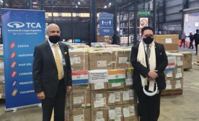 HOY / India dona remedios a Paraguay