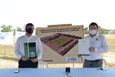 Proyectan la construcción de la primera pista de atletismo en el Chaco