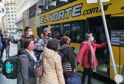 Repatrian desde Buenos Aires a 152 compatriotas en situación de vulnerabilidad • Luque Noticias
