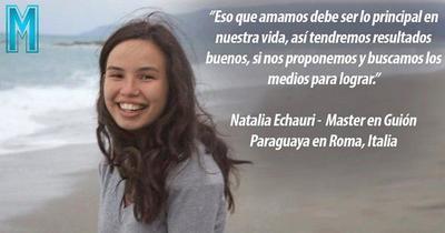 """La historia de Natalia Echauri: """"Superarse en la vida es ley para el ser humano"""""""