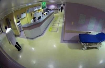 Cámaras captaron el momento de la explosión de Beirut desde el interior de un hospital