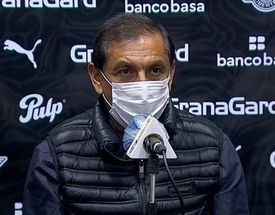 Ramón Díaz mantiene la fe en su equipo