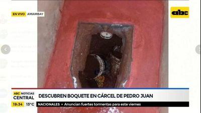 """PJC: Túnel estaba """"casi terminado"""" y habría permitido otra fuga de un centenar de internos"""