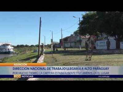 MINISTRA DE TRABAJO ANUNCIA PRIMERA DIRECCIÓN NACIONAL DE TRABAJO CON JURISDICCIÓN EN ALTO PARAGUAY