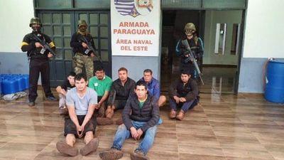 Prefectura Naval del Este aprehende a siete hombres en Hernandarias