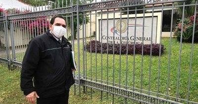 Sinadi pide a la Contraloría auditar gestión del ex gobernador de Guairá