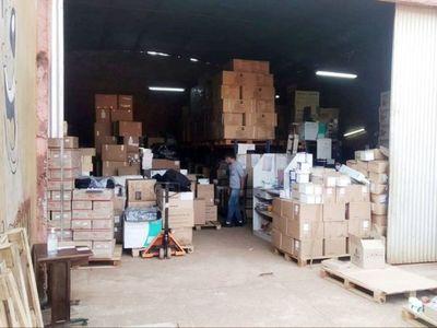 Los auditores del MSP advirtieron  que el depósito en  CDE no era apto