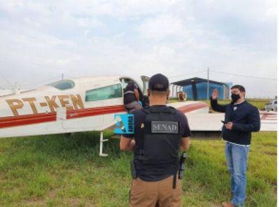 Peritos inspeccionaron aeronave abandonada en Zanja Pyta