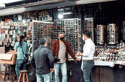 Agudizan control en puntos de compras por aumento de casos de Covid-19 en CDE