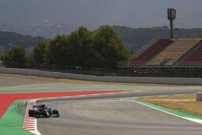 Mercedes lideró el primer entrenamiento libre del GP de España