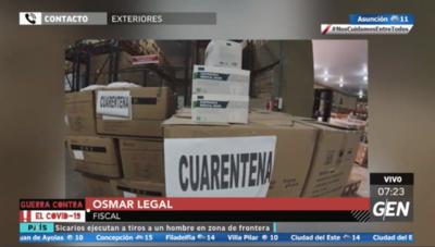 HOY / Fiscal Osmar Legal, sobre investigación de la compra de insumos y medicamentos