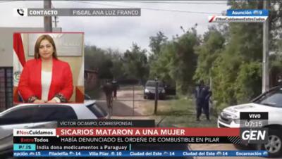 HOY / Fiscal Ana Luz Franco, sobre caso de sicariato en Pilar