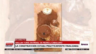 Hallan túnel en pabellón del PCC en penal de Pedro Juan