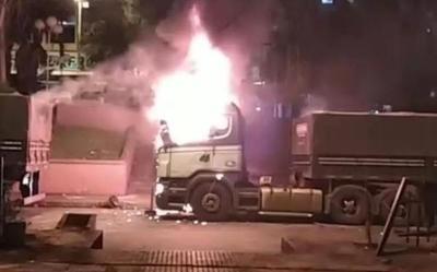 Vándalos se infiltrarían entre manifestantespara atentar contra policías durante protesta – Diario TNPRESS