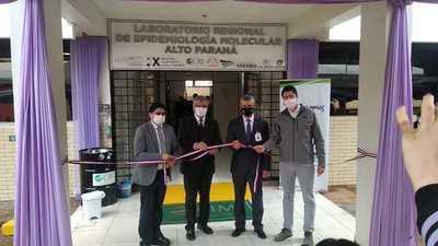 Alto Paraná ya tiene su laboratorio para Covid-19, que procesará 600 muestras por día