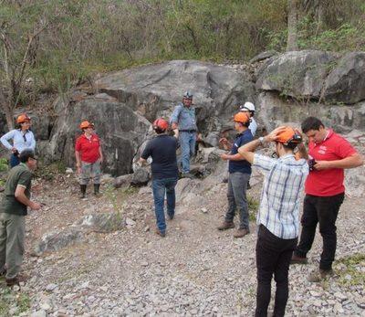 Avanzan en la elaboración del Plan de  manejo de las Cavernas de Vallemí