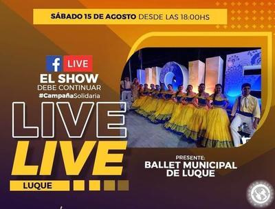 """El """"Show Debe Continuar"""", este sábado en Luque • Luque Noticias"""