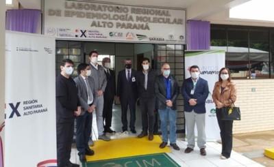 Porfin habilitan el laboratorio biomolecular en el Alto Paraná