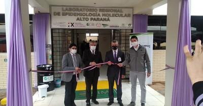 Gracias a donación, Alto Paraná cuenta con laboratorio para pruebas COVID-19
