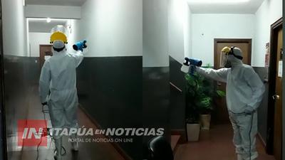 DURANTE UN MES, FUMIGARÁN EDIFICIO DE LA FISCALÍA DE ENCARNACIÓN