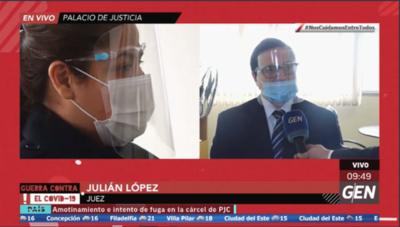 HOY / Juez Julián López aplicó medidas alternativas a la prisión a la extitular de Petropar, Patricia Samudio