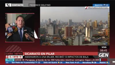 HOY / Fiscal Federico Delfino, sobre caso de sicariato en Pilar
