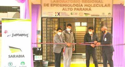 Tras la larga espera habilitan el laboratorio biomolecular del Alto Paraná