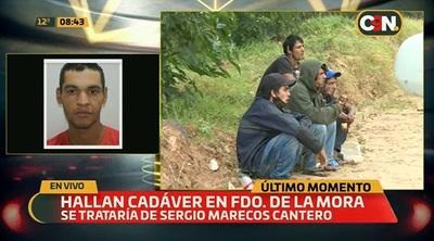 Hallan cadáver de un hombre en Fernando de la Mora