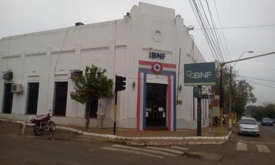 Cierran BNF de San Ignacio por protocolo sanitario