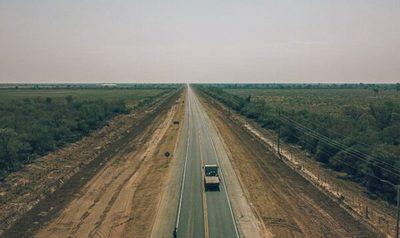 Ruta Bioceánica supera los 100 kilómetros asfaltados