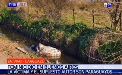 Joven paraguaya es asesinada en Argentina