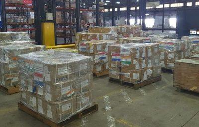 India dona medicamentos al Paraguay