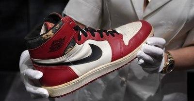 Récord mundial para championes de Michael Jordan: 615.000 dólares