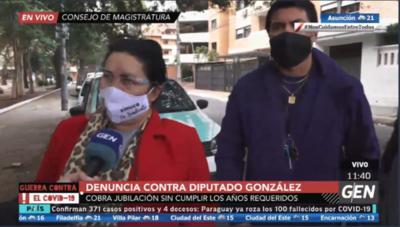 HOY / Denuncia contra diputado Roberto González