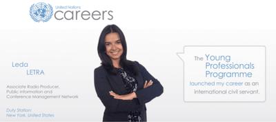 La ONU ofrece oportunidad laboral a jóvenes profesionales