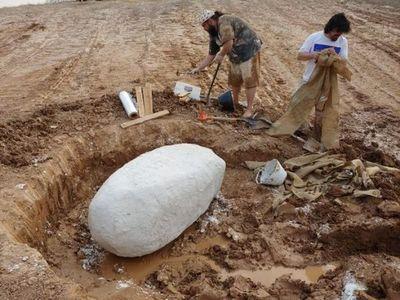 Encuentran un fósil de al menos 10mil años en Presidente Hayes