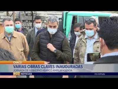 VARIAS OBRAS CLAVES INAUGURADAS EN EL DEPARTAMENTO DE BOQUERÓN