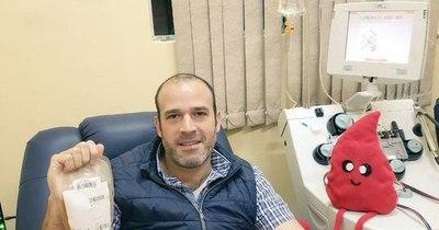 Titular de Senave se recupera del COVID-19 y dona plasma para pacientes enfermos