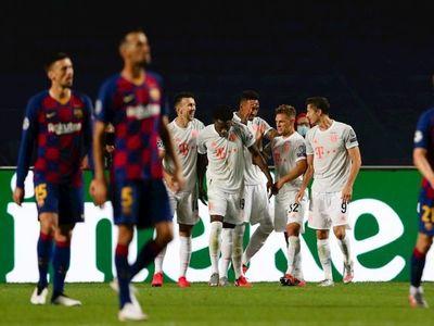 El Bayern Múnich tritura y humilla a Barcelona