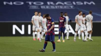 Barcelona hizo el ridículo frente al Bayern Munich