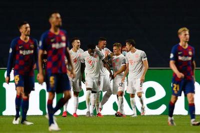 El Bayern pulveriza al Barcelona