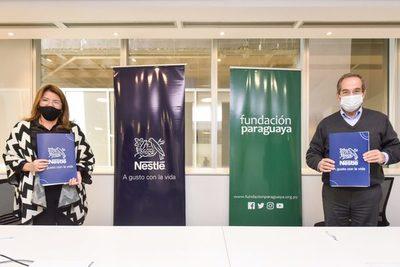 Nestlé invierte 68.000 dólares en la educación y formación del país