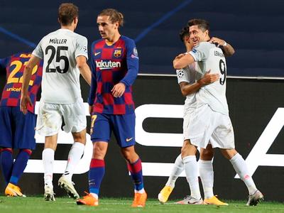 Bayern humilla al Barcelona para ser semifinalista