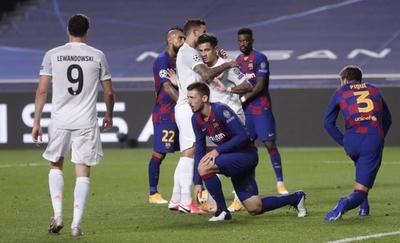 HOY / Humillante: Bayern tritura al Barça y lo deja fuera de la Champions