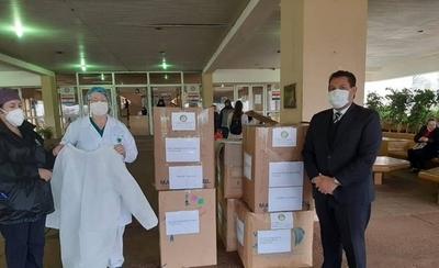 HOY / Rotary Club realiza donación de insumos para hospitales públicos