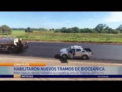 LOMA PLATA: PARA FINALES DE ESTE AÑO PREVÉN CULMINAR DE ASFALTAR LA MITAD DE LA RUTA BIOCEÁNICA