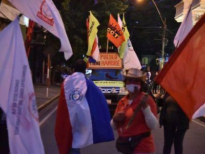 A dos años del Gobierno de Mario Abdo, organizaciones salen a las calles